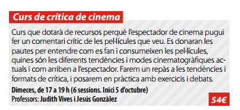 curs-critica-cinema-tres-roques-mataro-judith-vives-jesus-gonzalez